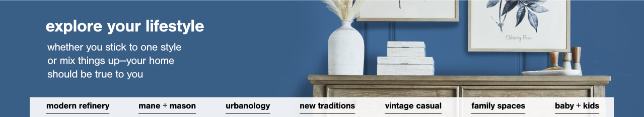 Modern Refinery,Mane + Mason,Urbanology,New Traditions,Vintage Casual