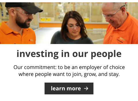 Investing in our People