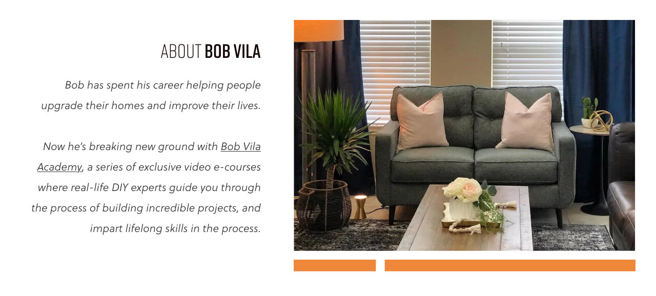 Bob Vila's Sweepstakes with Ashley HomeStore