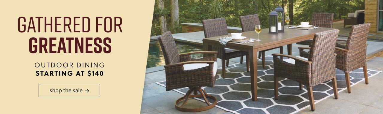 Outdoor Furniture & Accessories   Ashley Furniture HomeStore
