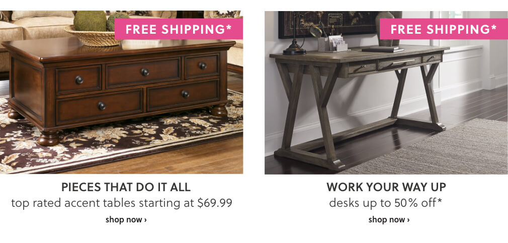 Top Rated Accent Tables, Desks with Free Shipping