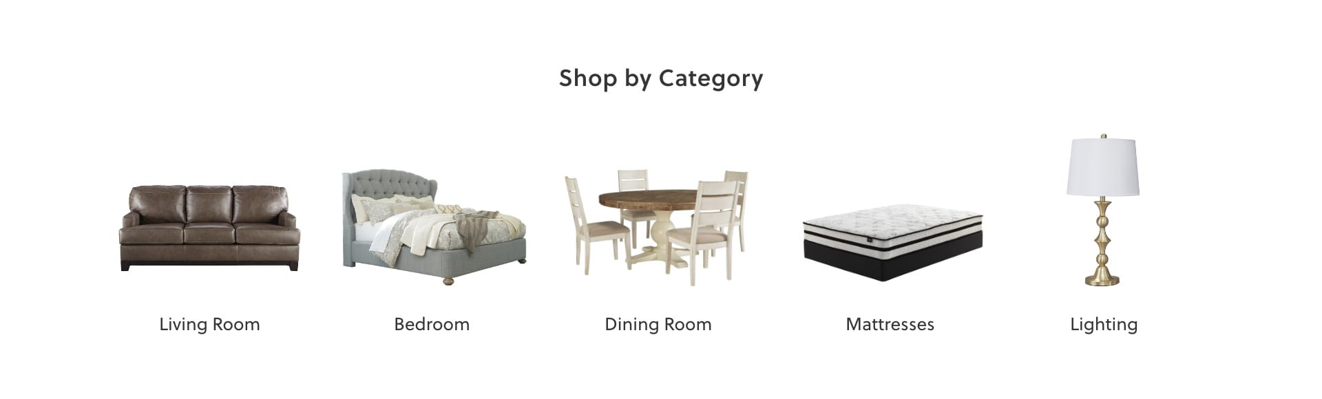 Living Room, Bedroom, Dining Room, Mattresses, Lighting