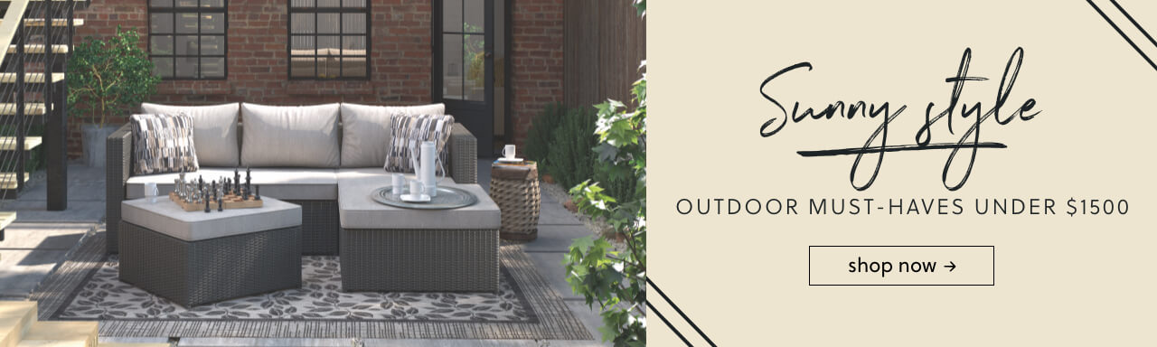 All Weather Outdoor Fabric 2019 Outdoor Furniture Patio Furniture ... - Outdoor Furniture & Accessories Ashley Furniture HomeStore