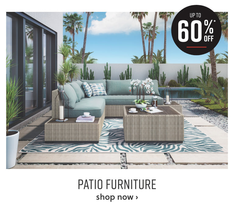 Outdoor Seating Sale up to 50% off*