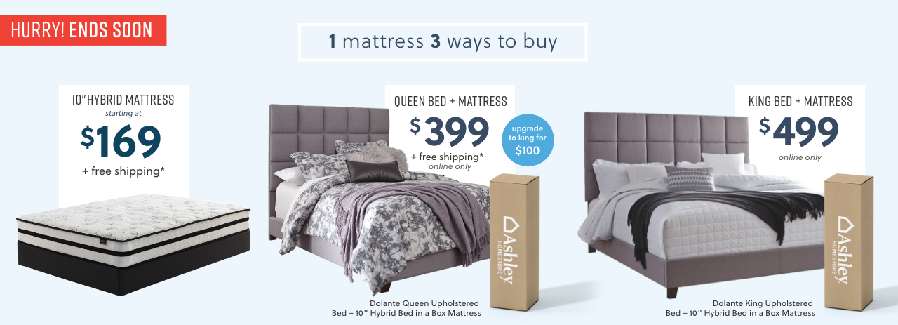Hybrid Bed in a Box Mattress