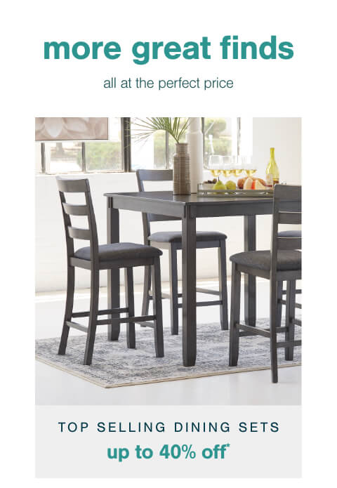 Top Selling Dining Sets Up to 40% Off