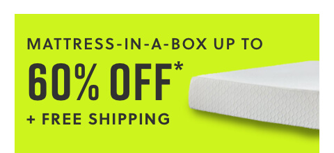 Mattress in a Box! Lowest Price Ever Up to 60% Off* + Free Shipping