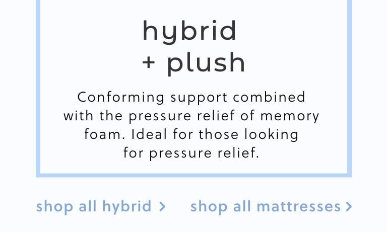 Hybrid Plush Mattresses