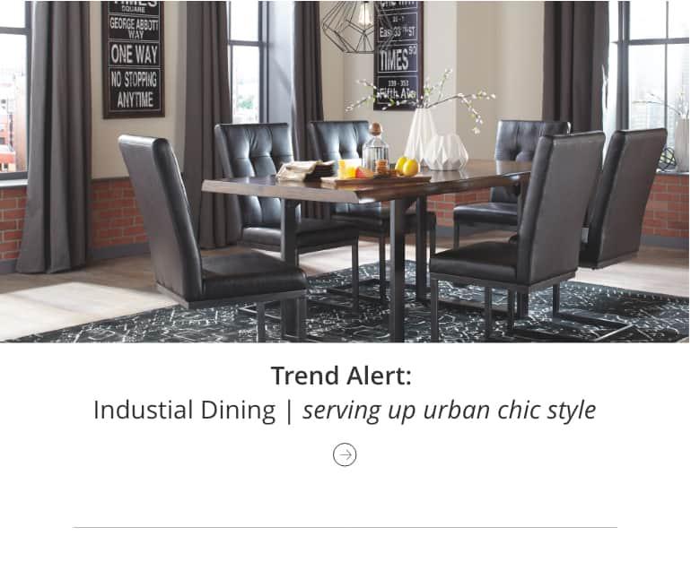 Trend Alert Industrial Dinining