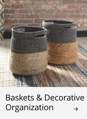 Related Products: Baskets & Decorative Organization