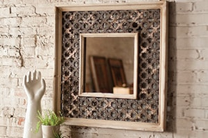 Home Accents Lattice Mirror