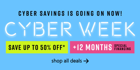 Cyber Week Sale! Save up to 50% Off