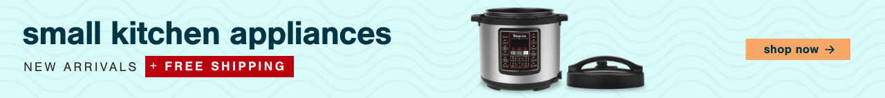 Small Kitchen Appliances NEW ARRIVALS + FREE SHIPPING