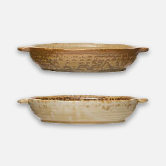 Stoneware Baker- Set of 2