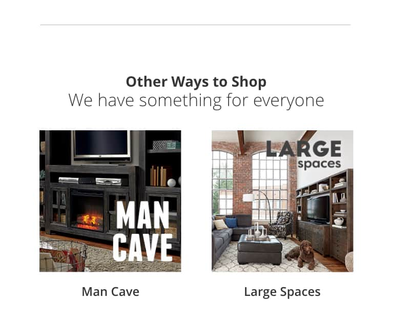 Furniture Rooms, Man Cave, Large Spaces