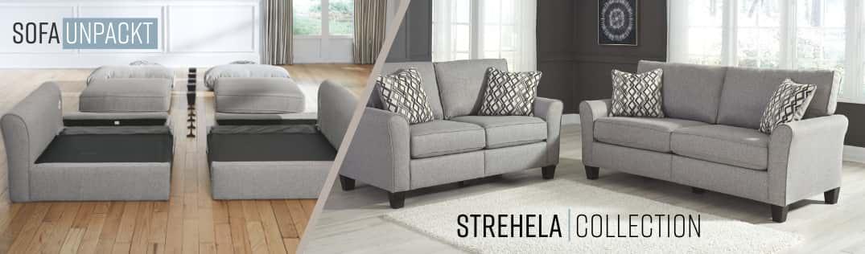 Sofa Unpackt Strehela Collection