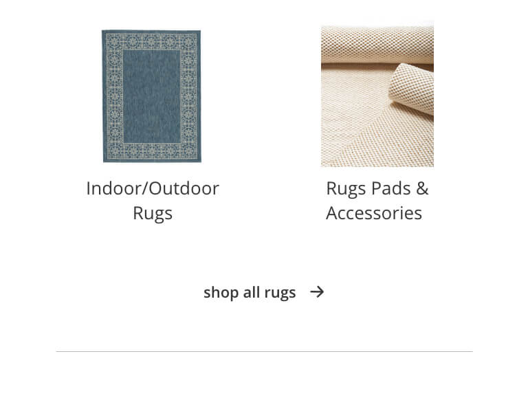 Indoor/Outdoor Rugs, Rugs Pads and Accessories