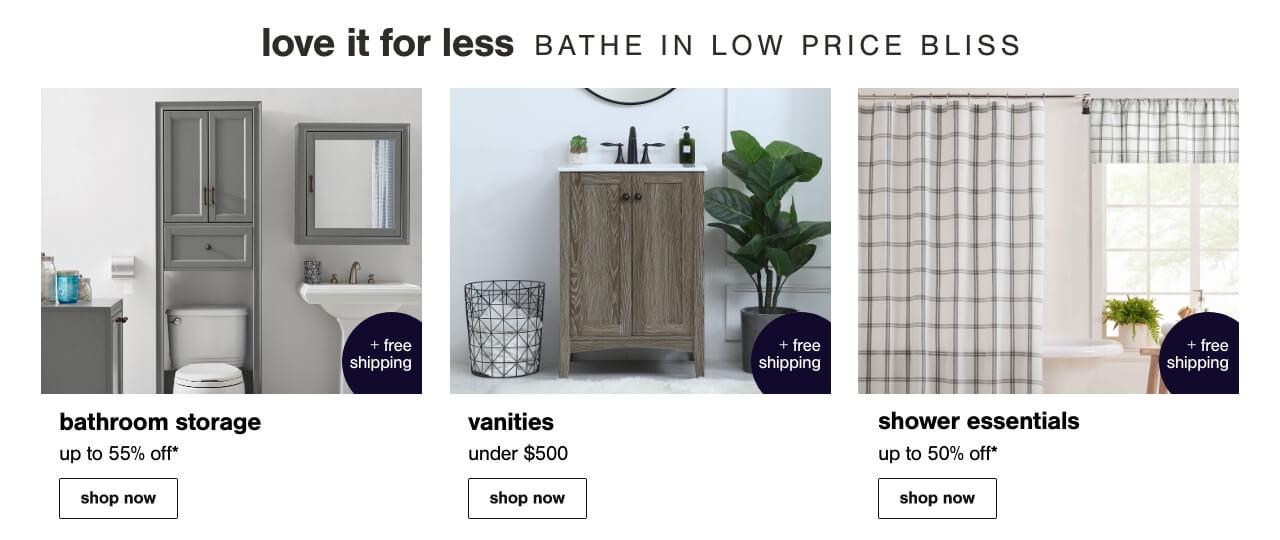 Bathroom Storage, Bathroom New Arrivals, Bathroom Sale Furniture