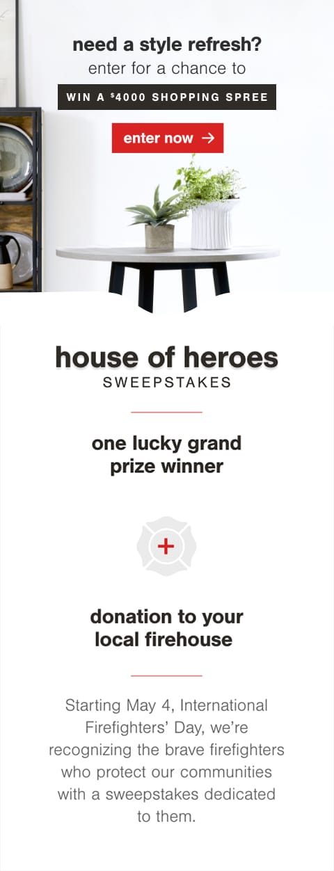Firefighter Sweepstakes