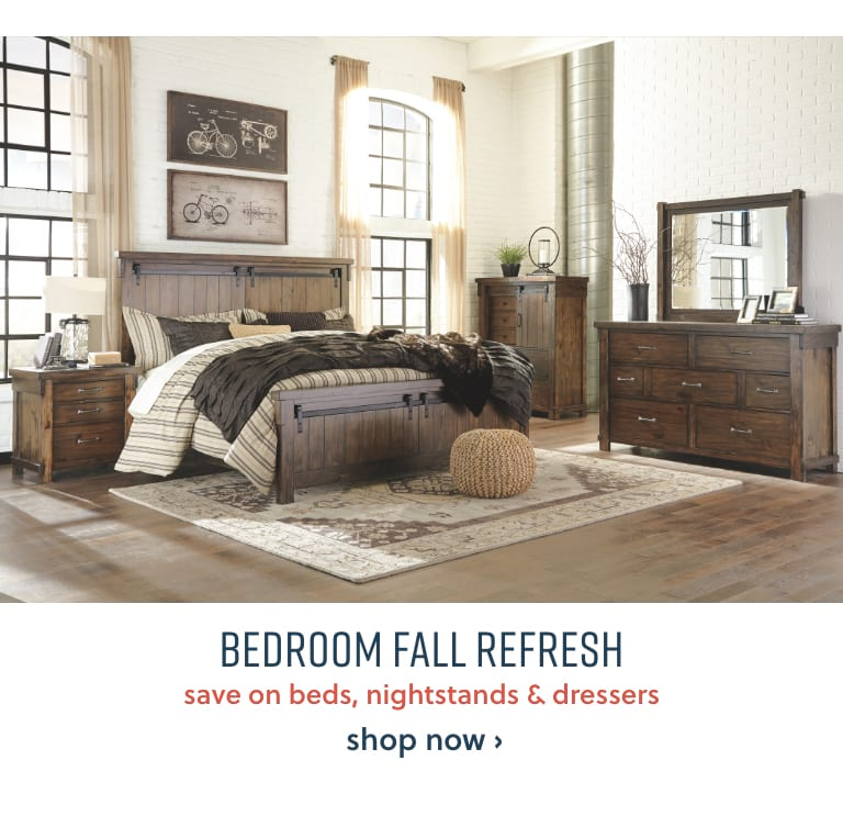 Save on Beds, Nightstands and Dressers