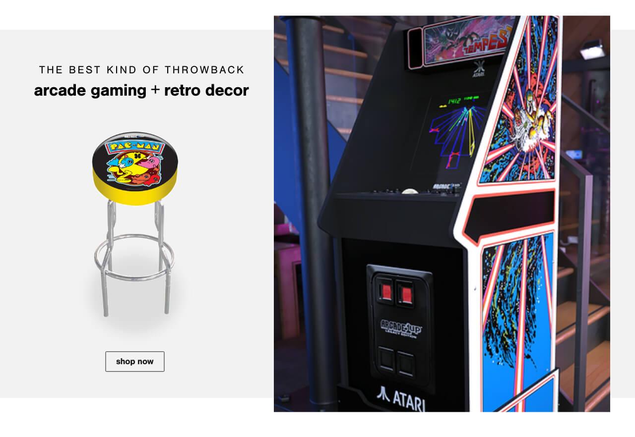 Arcade Gaming & Retro Decor