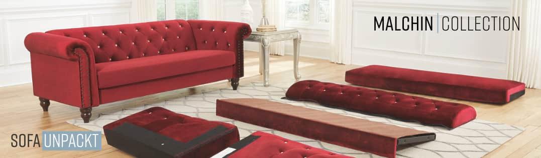 Sofa Unpackt Malchin Collection