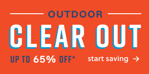 OUR BIGGEST OUTDOOR EVENT Up to 65% off