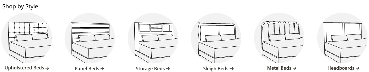 Four Poster Beds of All Sizes | Ashley Furniture HomeStore