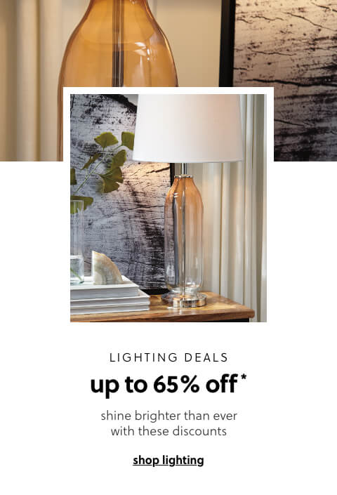Lighting Deals Up to 65% off