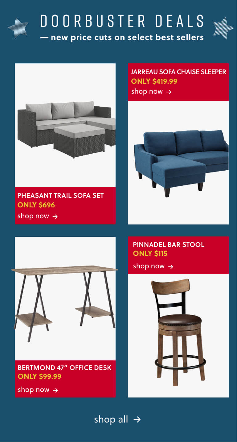 Triptis Accent Chair, Jarreau Sofa, Honnally Accent Chair, Bertmond Office Desk, Pinnadel Bar Stool