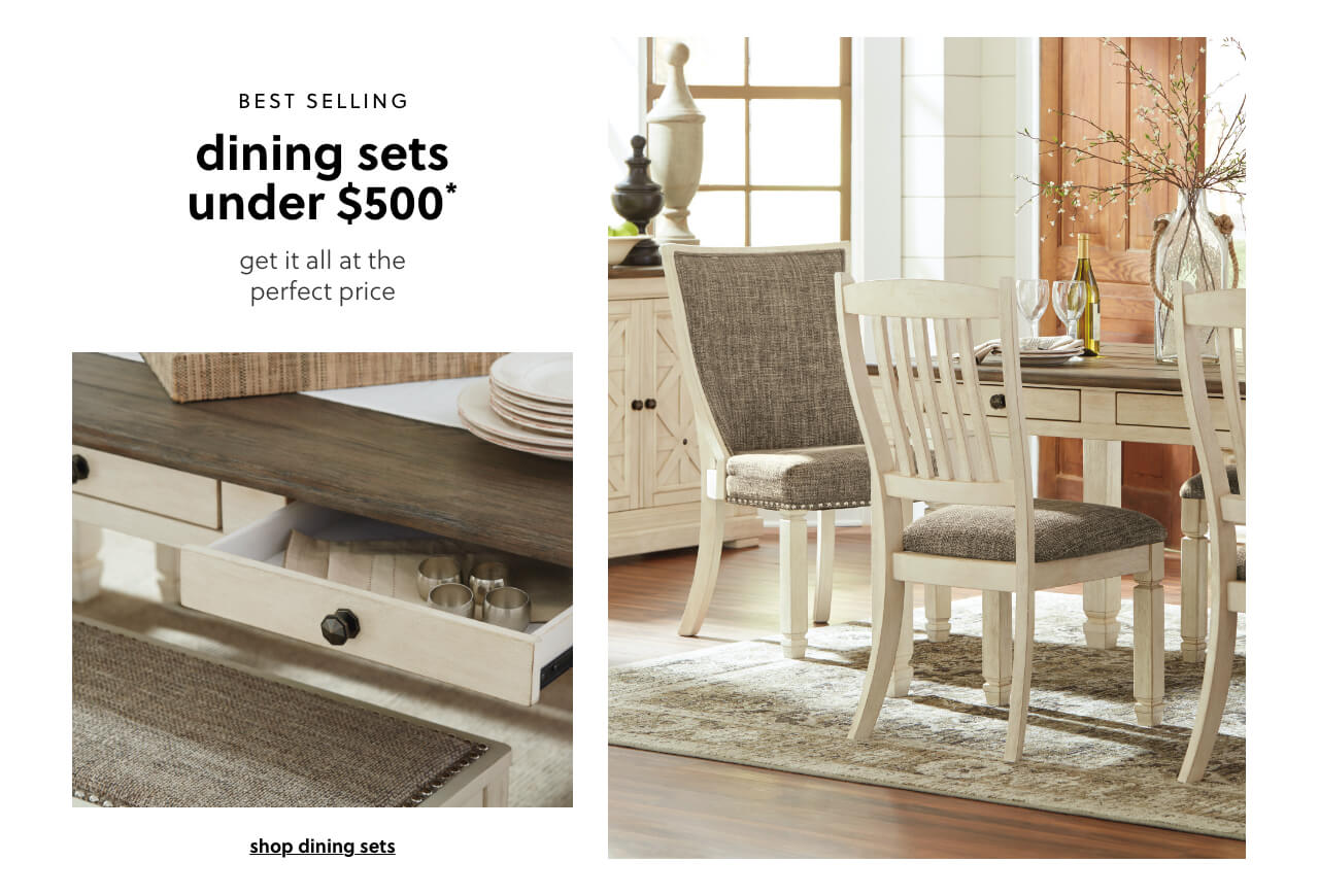 Best Selling Dining Sets Under $500