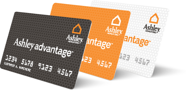 Ashley Advantage Finance Cards