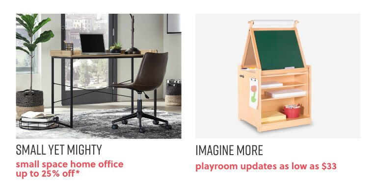 Small Space Home Office, Kids Playroom