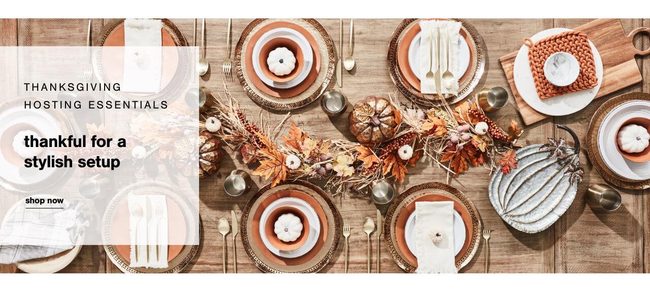 Thanksgiving Hosting Essentials