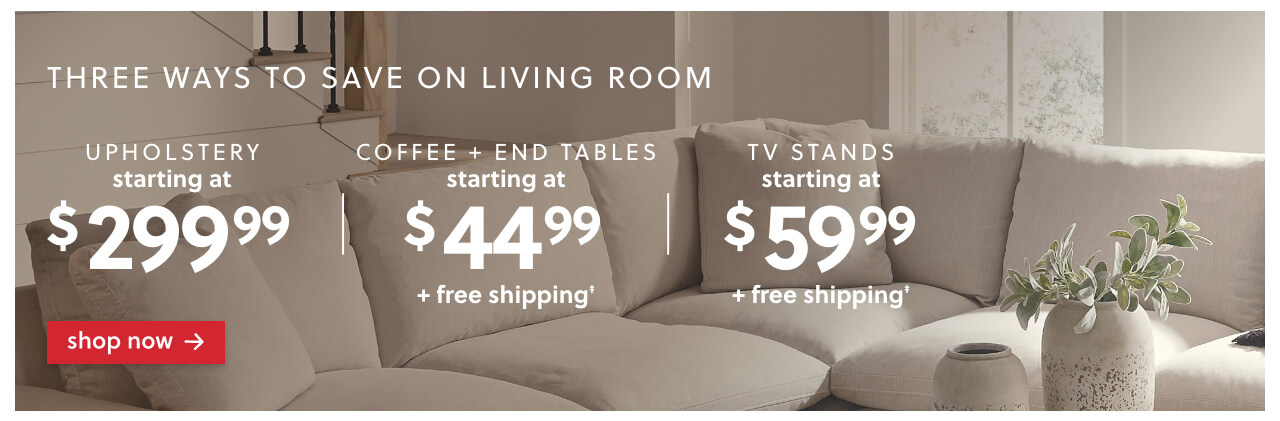 3 Ways to save on living room furniture