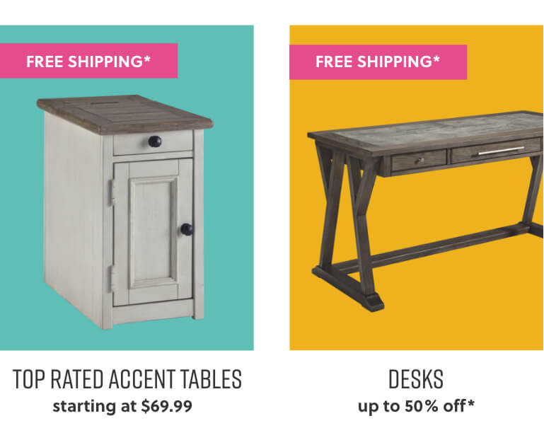 Top Selling Accent Tables, Desks Free Shipping