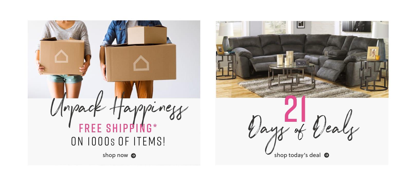 21 Days Of Furniture Deals