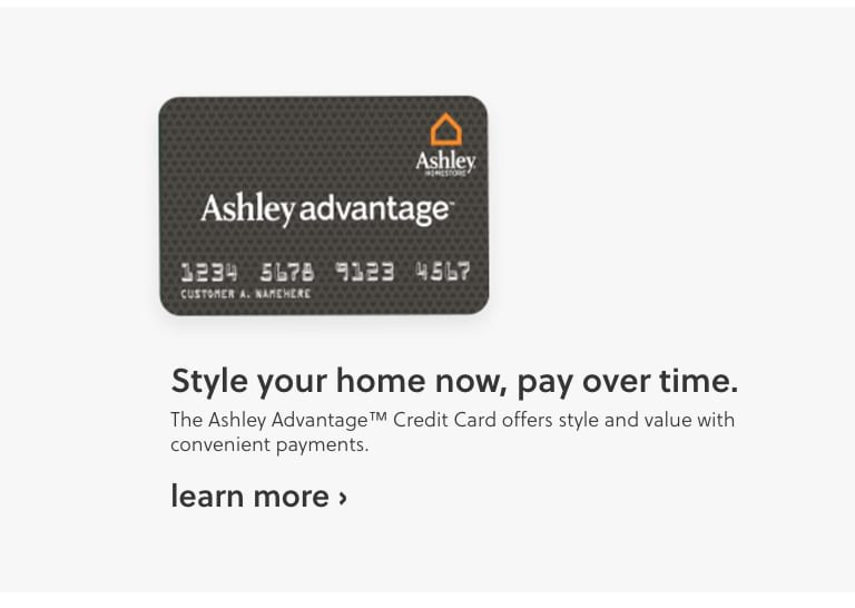 Ashley Advantage Online Financing