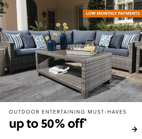 Outdoor Entertaining Must-Haves up to 50% Off*
