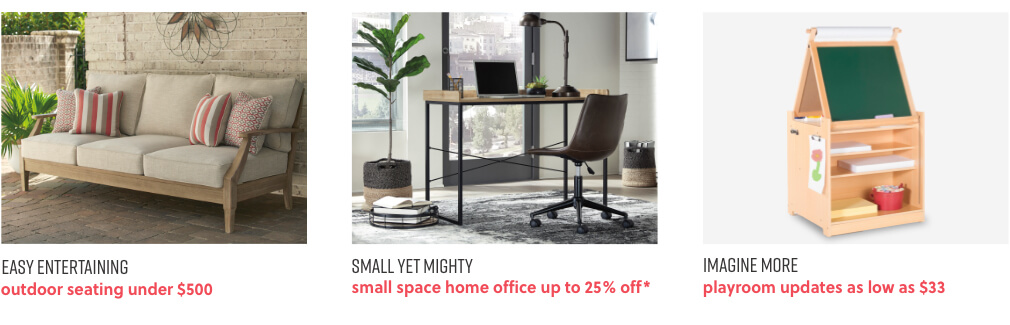 Outdoor Seating, Small Space Home Office, Kids Playroom