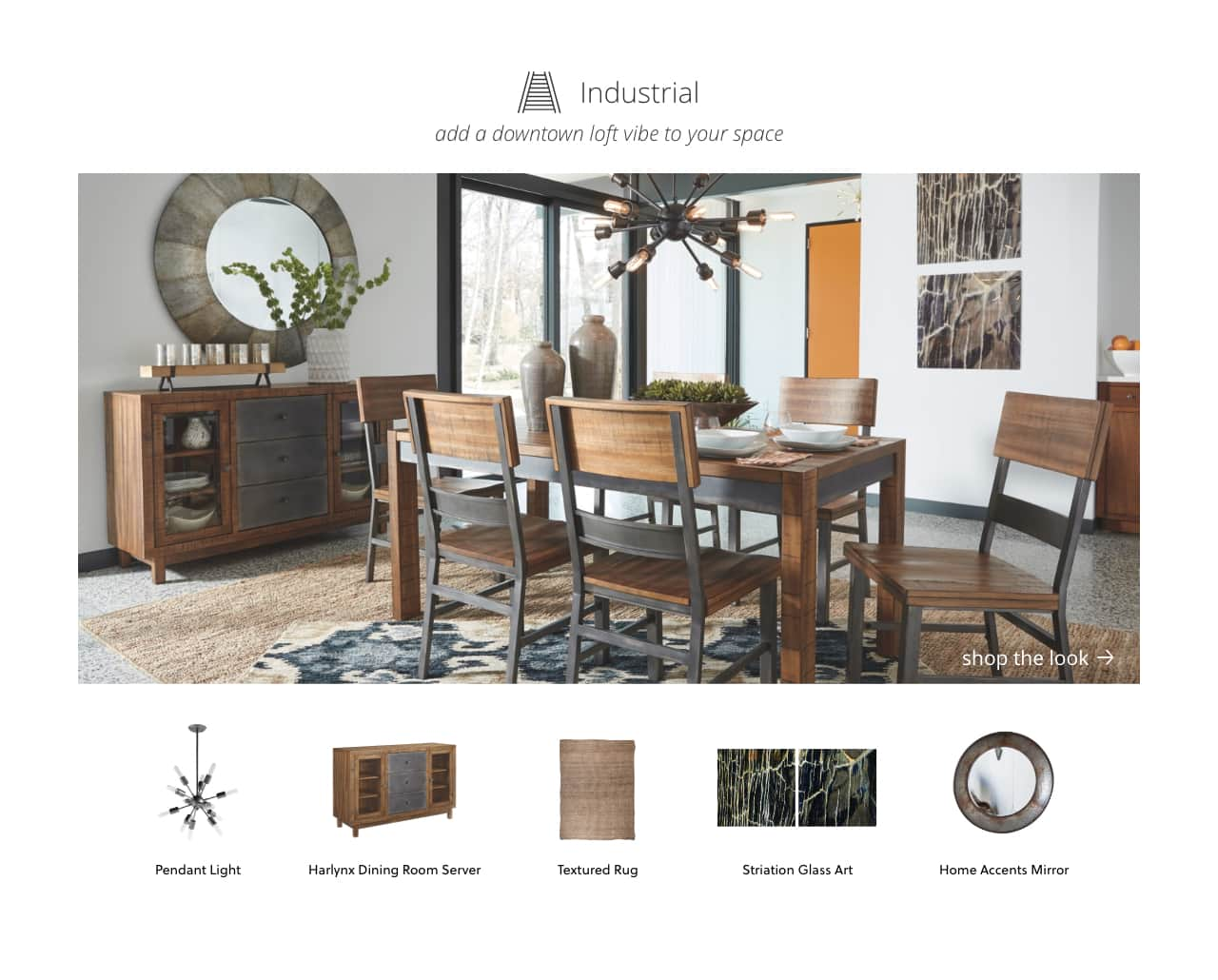 Industrial Style Kitchen and Dining Furniture