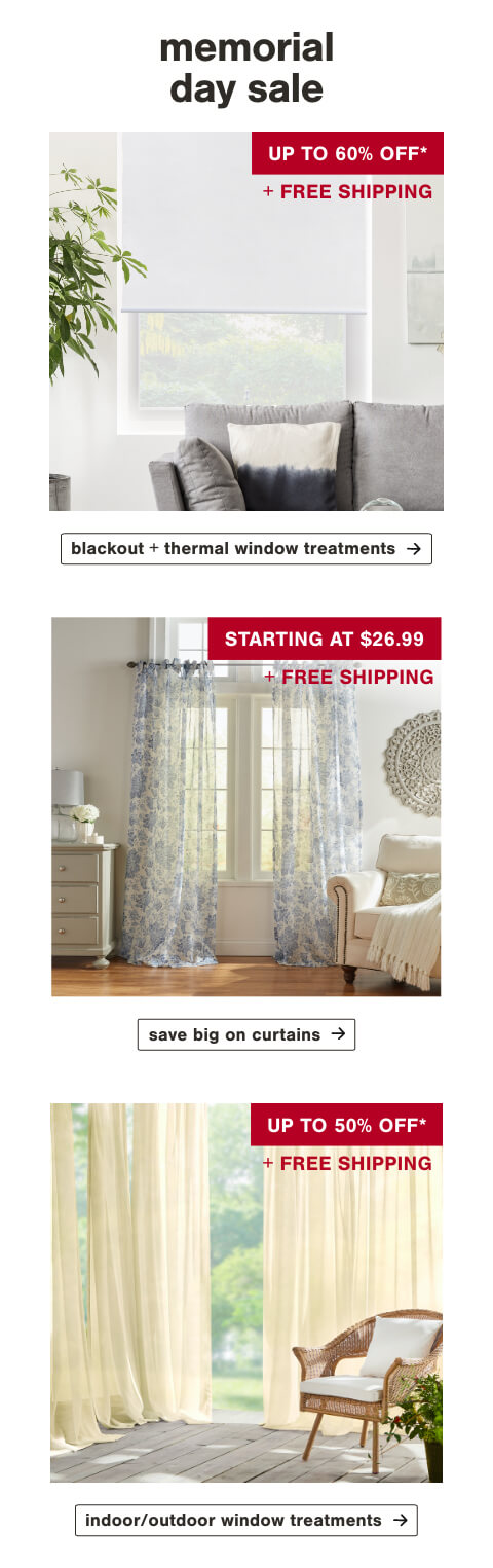 Blackout Window Treatments, Curtains, Indoor and Outdoor Window Treatments