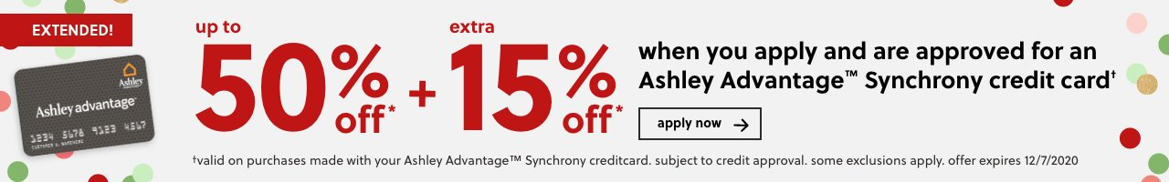 Ashley Advantage Synchrony Credit Card