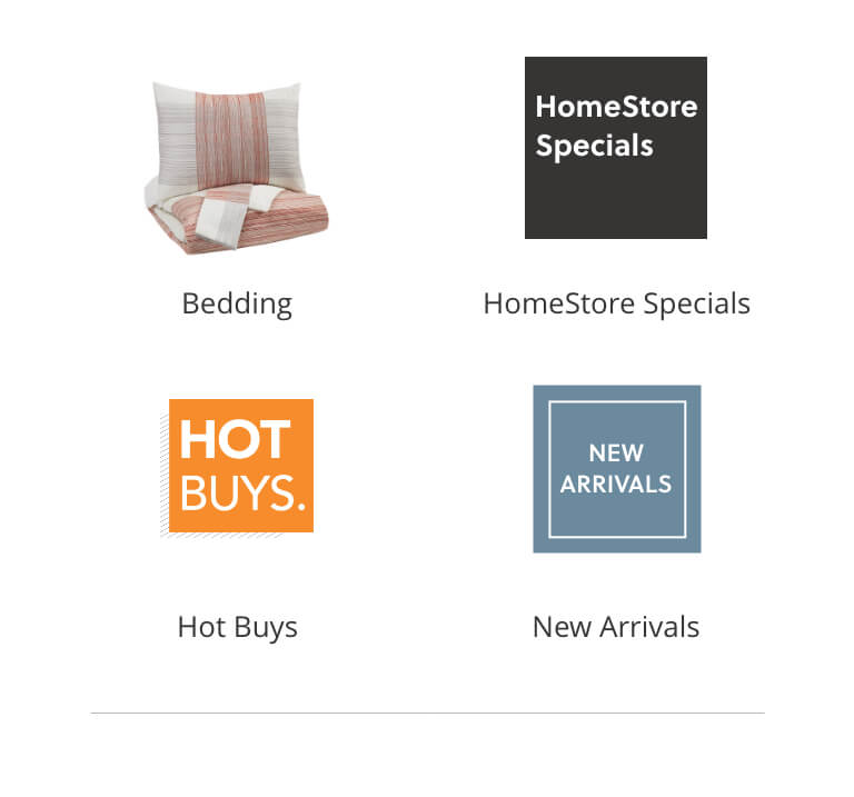 HomeStore Specials, Hot Buys