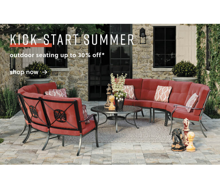 Outdoor Seating up to 30% Off