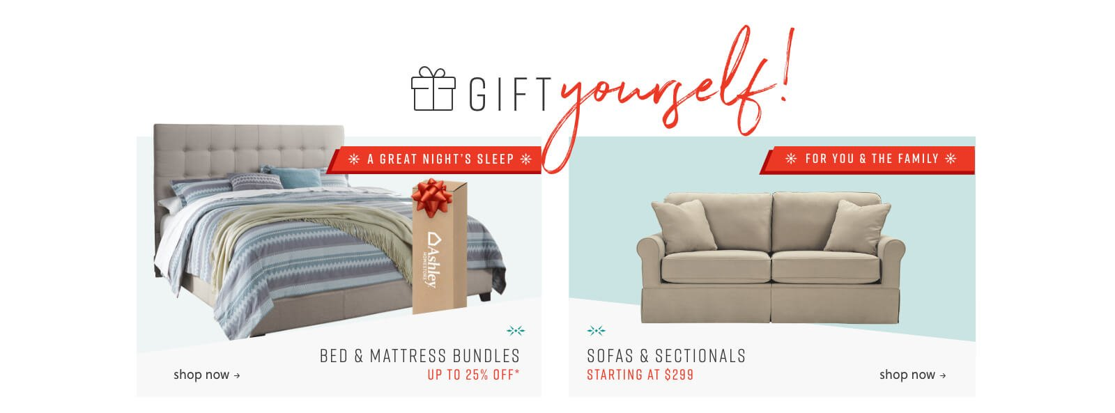 Bed and Mattress Bundles, Sofas and Sectionals
