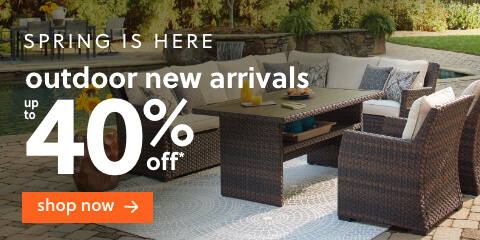 """Spring is Here! Shop & Save Up to 40% Off* on Outdoor New Arrivals + Free Delivery"