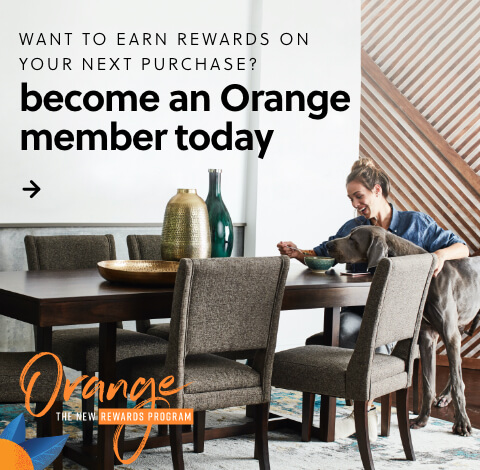 Orange the new Rewards Program is officially here! Earn rewards on your purchase today.
