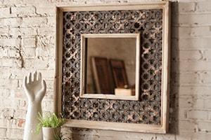 Home Accents Lattice Mirror