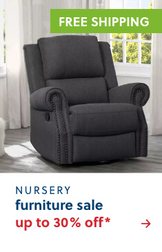 Top Rated Nursery Furniture Up to 30% Off* + Free Shipping